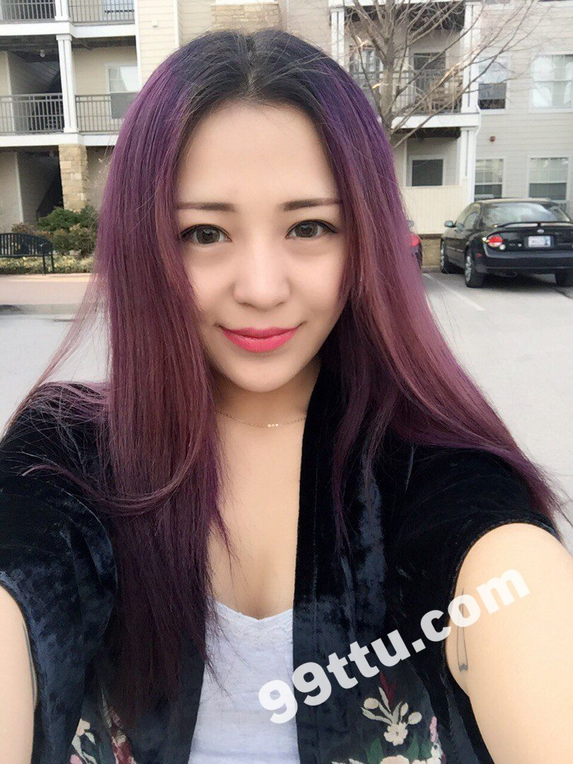 KK23 490张 长发青春活力网红美女-1