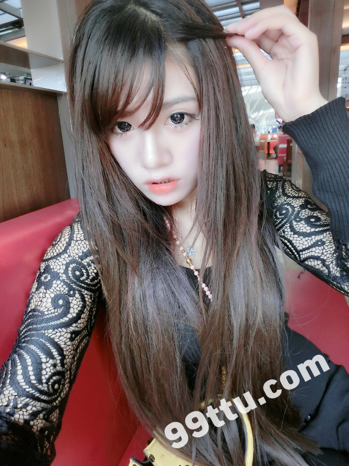 KK90_1390图+6视频 美女靓丽青春素材生活照-2