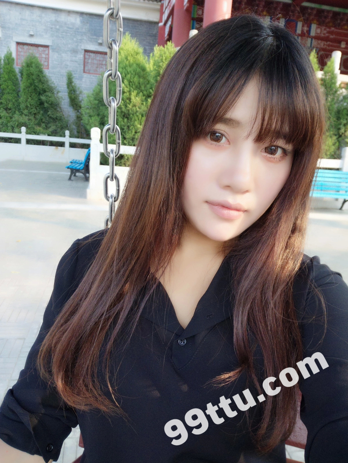 KK90_1390图+6视频 美女靓丽青春素材生活照-4