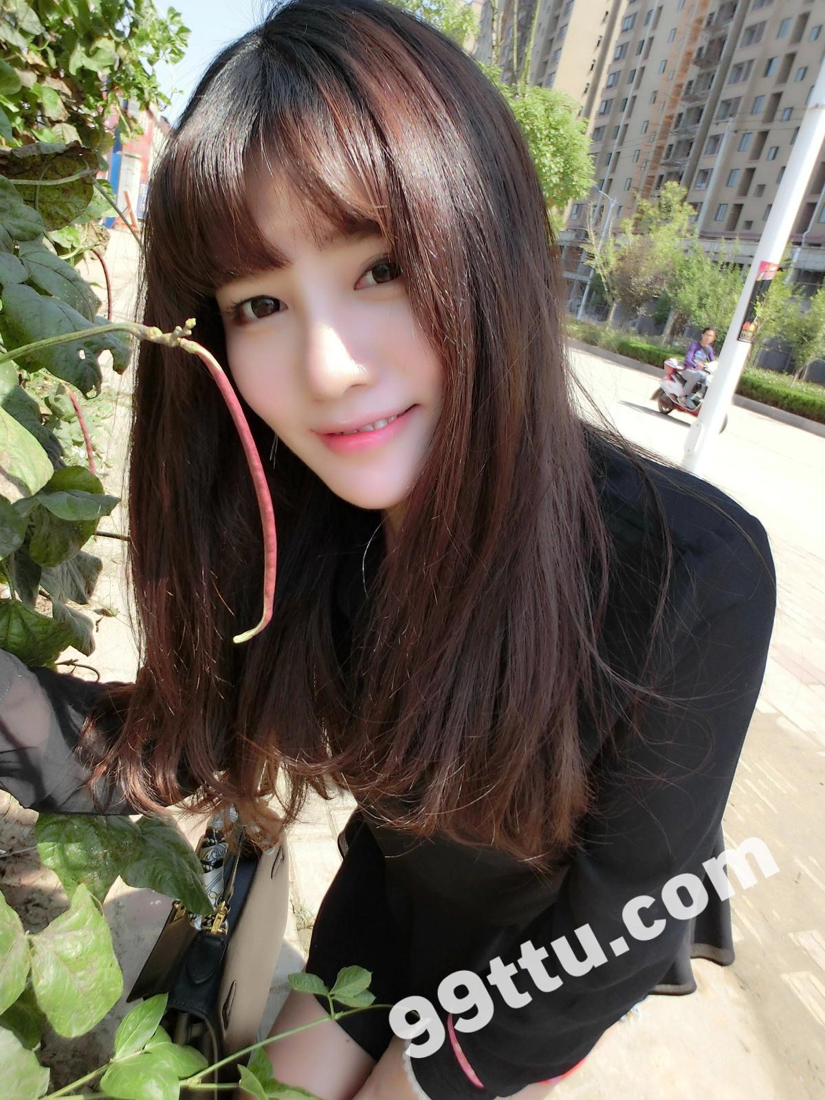 KK90_1390图+6视频 美女靓丽青春素材生活照-8