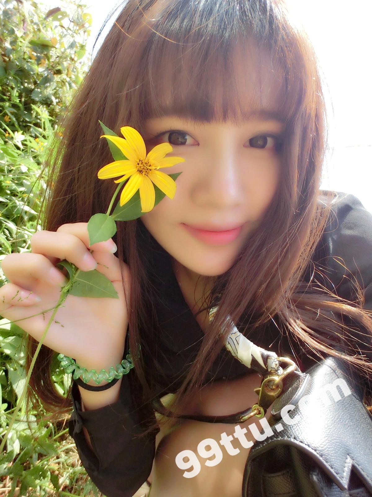 KK90_1390图+6视频 美女靓丽青春素材生活照-12