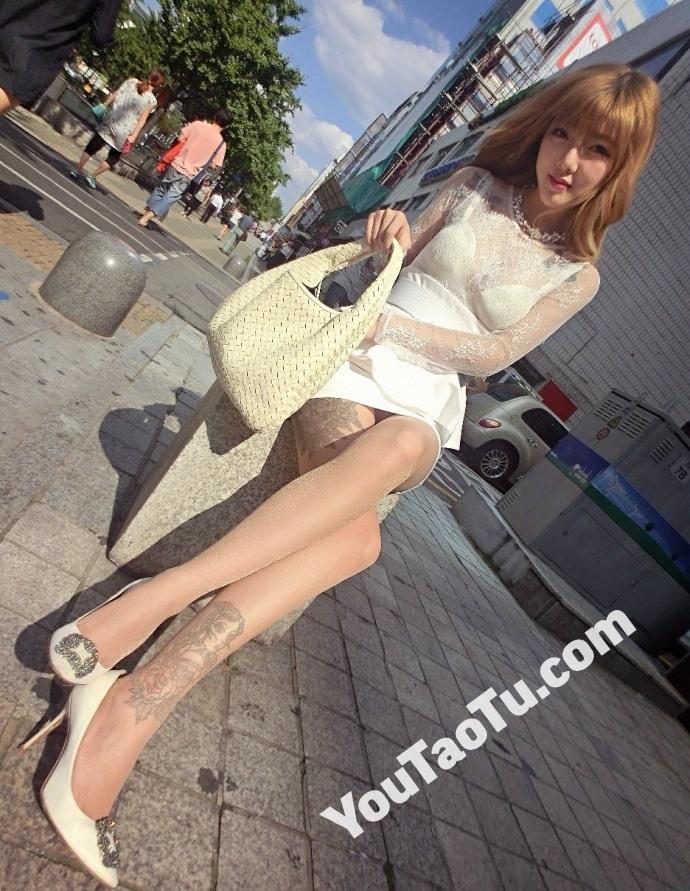 ZZ04_1868图 美腿带纹身好身材美女生活照素材套图-8