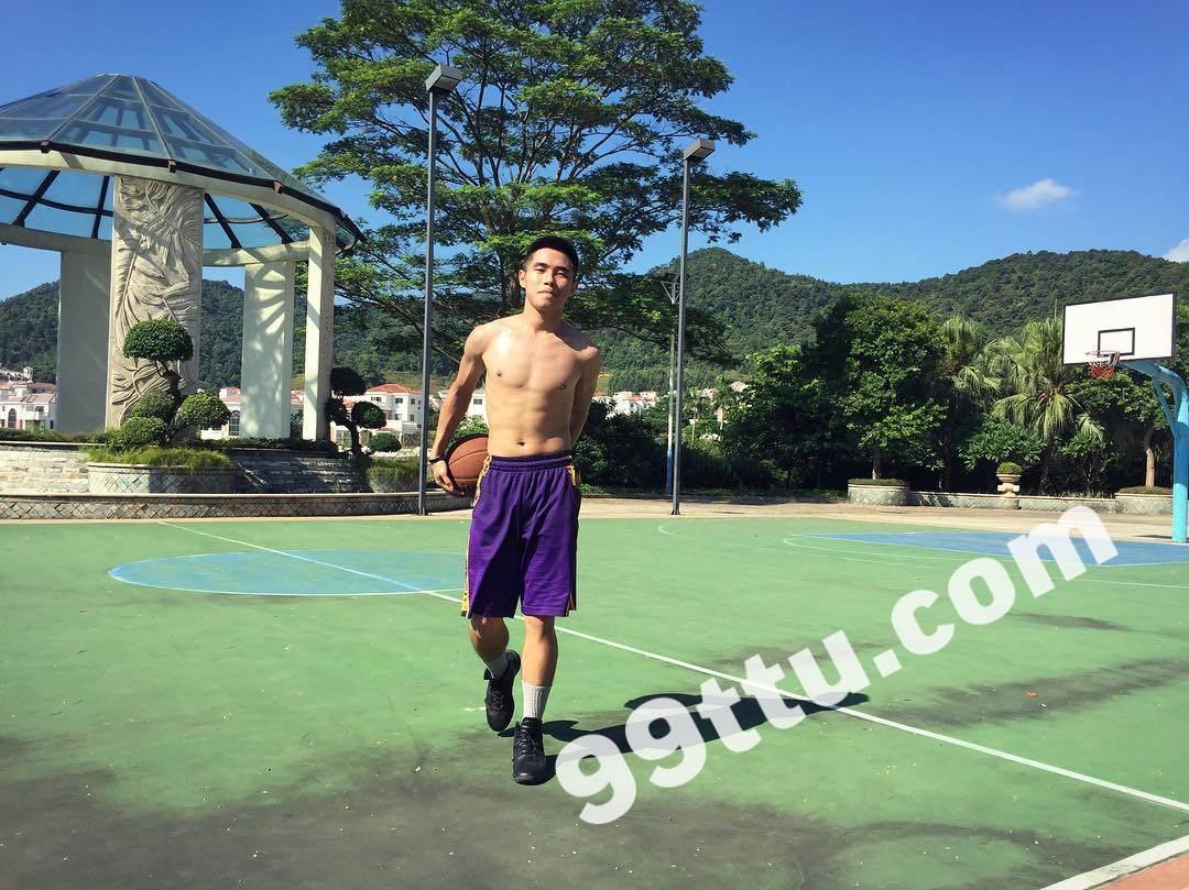 M09男图210照片+3视频(年轻帅哥学生男神爱好篮球好身材真实男士青年)-2