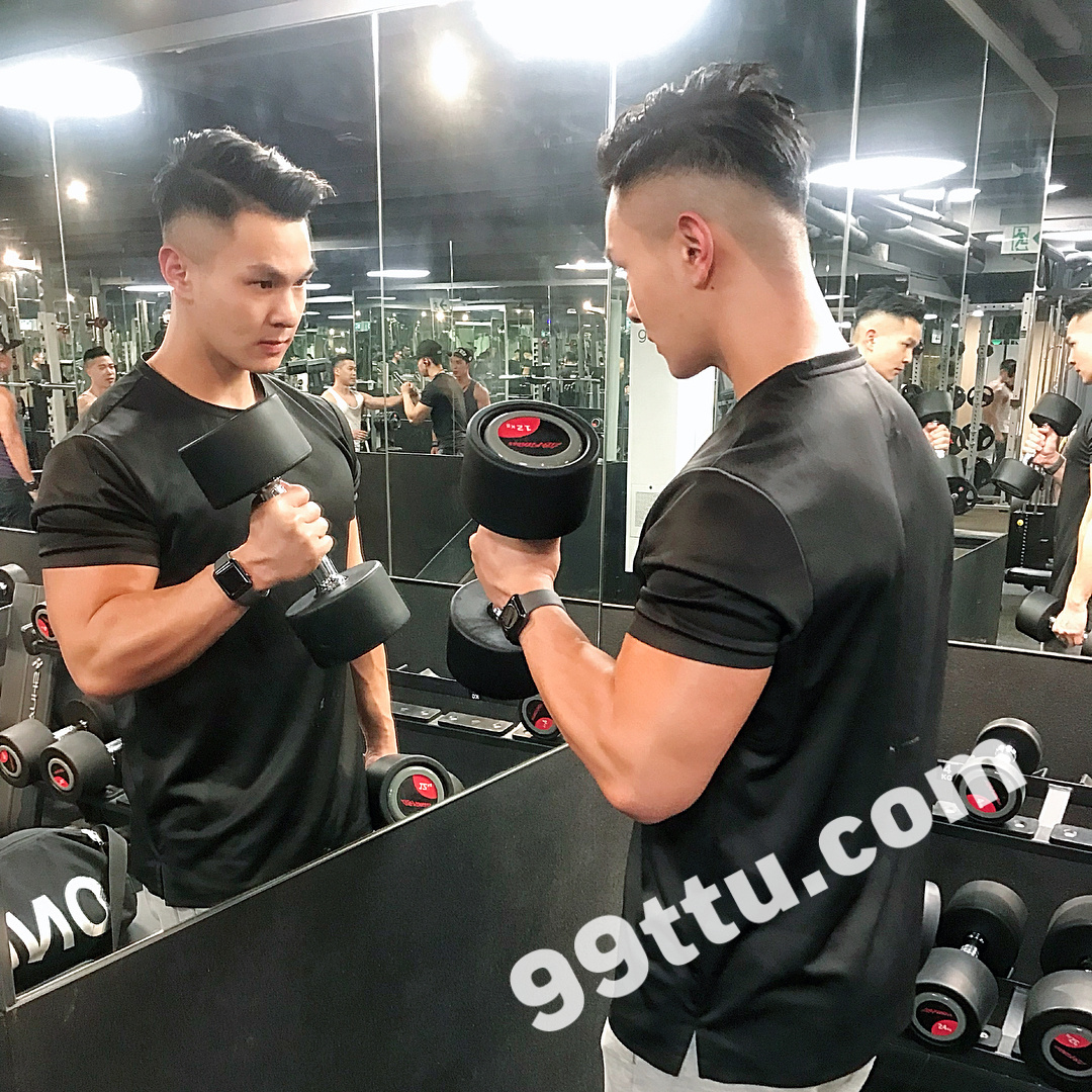 M19男图476照片+62视频(男神健身大叔教练超好身材帅哥青年时尚气质真实)-9