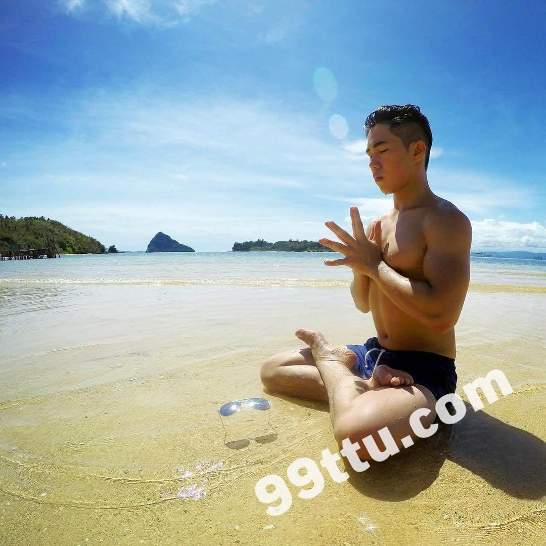 M23男图348照片+3视频(男神好身材帅哥活泼旅游潜水时尚达人小青年年轻)-5