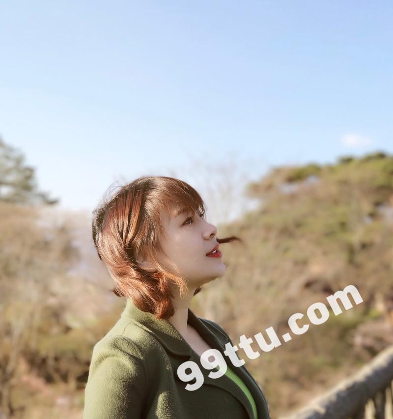 W54_女套图321照片(素颜真实女生 现实平常爱旅游女生)-9