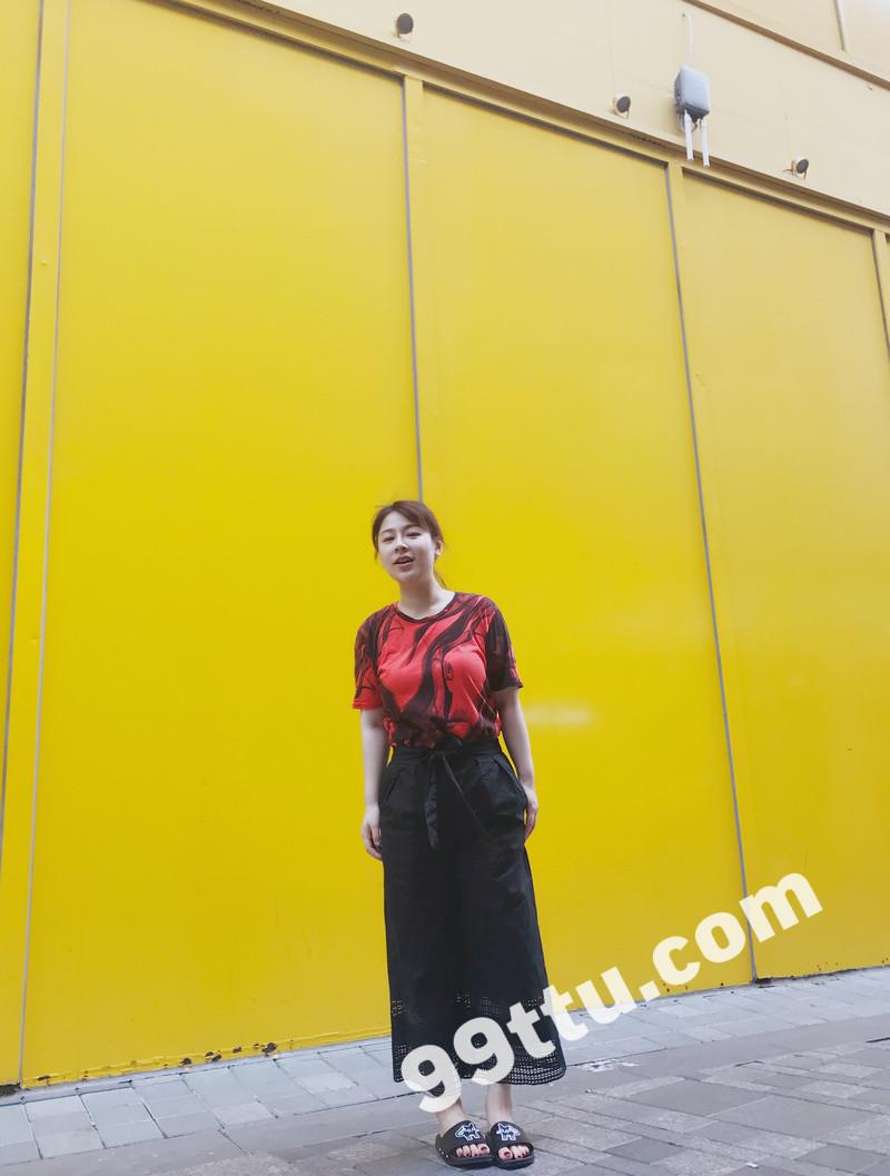 W54_女套图321照片(素颜真实女生 现实平常爱旅游女生)-11