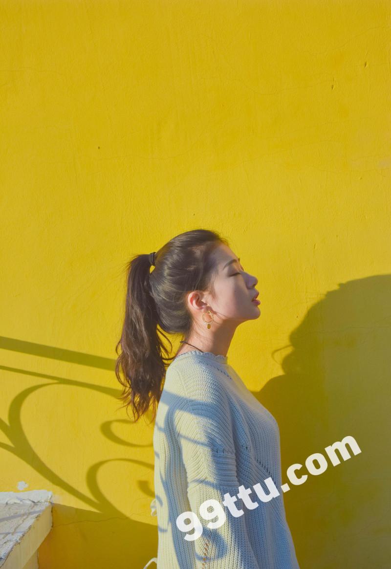 W69_女套图388照片+9视频(时尚青春可爱女生 素颜同一个人)-14