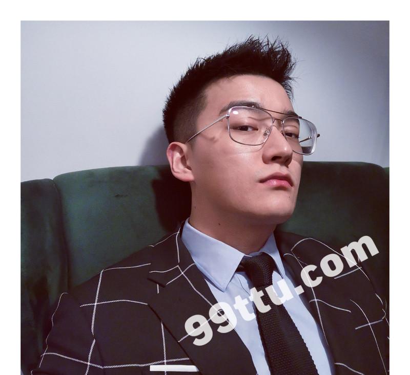 M95_男套图434照片+10视频(戴眼镜年轻小帅哥 普通人日常生活照一整套 真实男神网恋照片组)-2