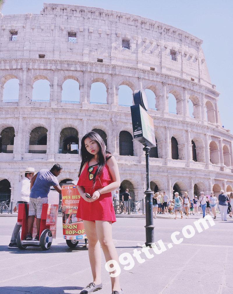 W101_女套图306照片+14视频(国外留学生小姐姐日常素材照微信朋友圈素材组图)-3