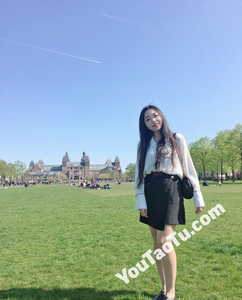 W101_女套图306照片+14视频(国外留学生小姐姐日常素材照微信朋友圈素材组图)-11